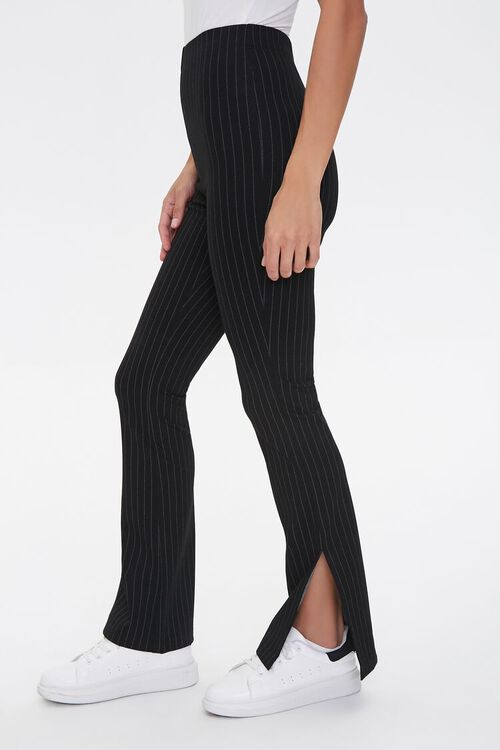 Pinstriped Flare Pants, image 1
