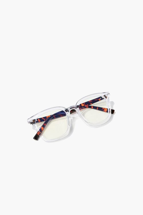 CLEAR/CLEAR Blue Light Reader Glasses, image 6