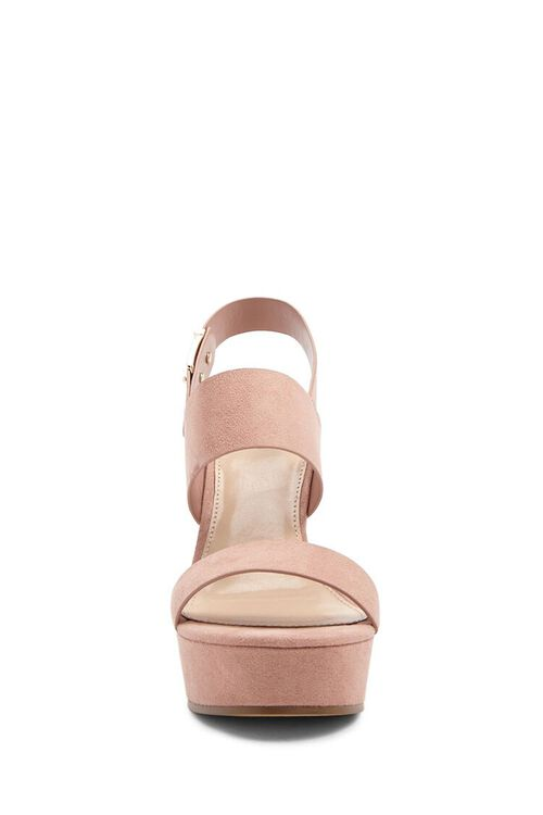 Faux Suede Wedges, image 3