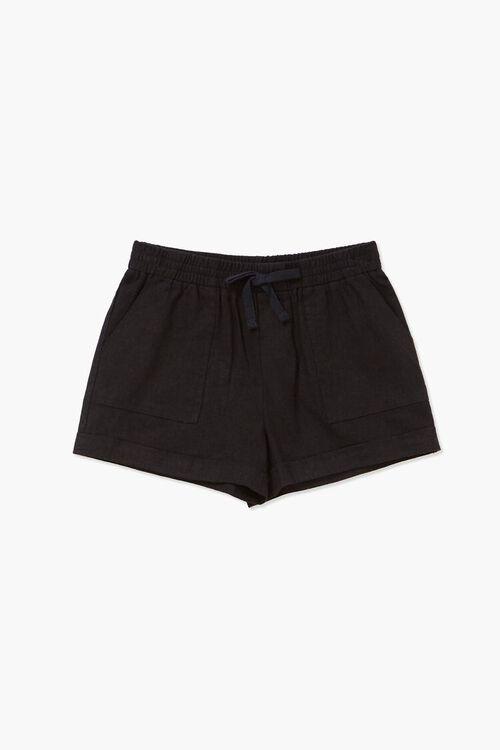Girls Linen-Blend Shorts (Kids), image 1
