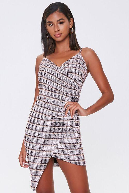 Plaid Bodycon Dress, image 1