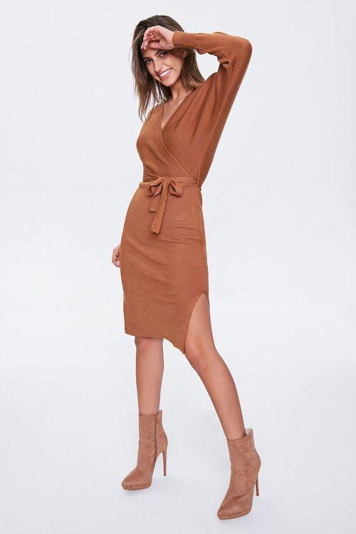 Surplice Wrap Dress, image 5
