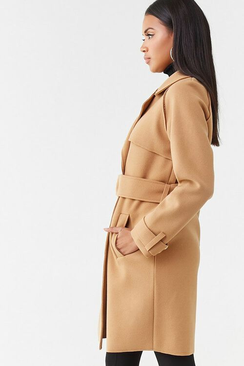 Brushed Double-Breasted Coat, image 2