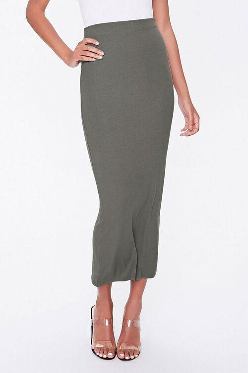 Midi Pencil Skirt, image 4
