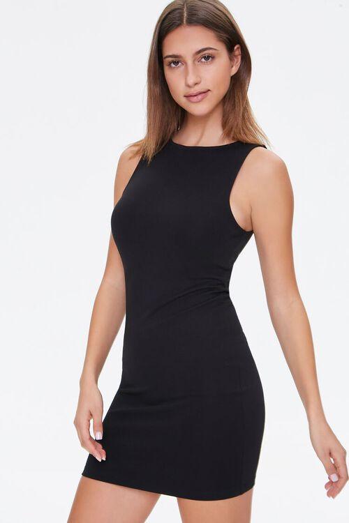 BLACK Bodycon Mini Dress, image 1