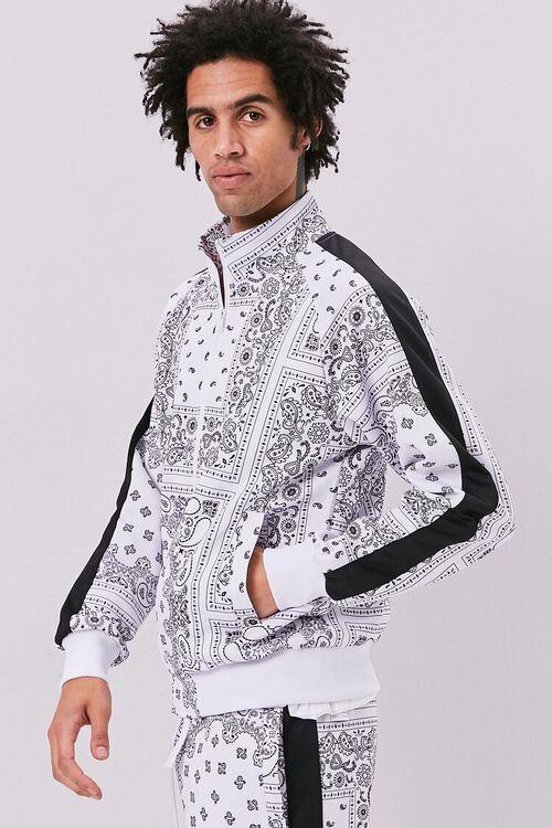 Bandana Print Zip-Up Jacket, image 2