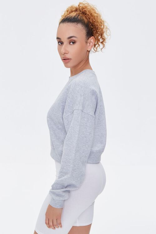 Split-Neck Sweatshirt, image 2