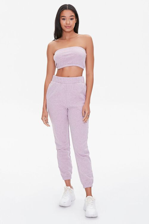 French Terry Cropped Tube Top, image 4
