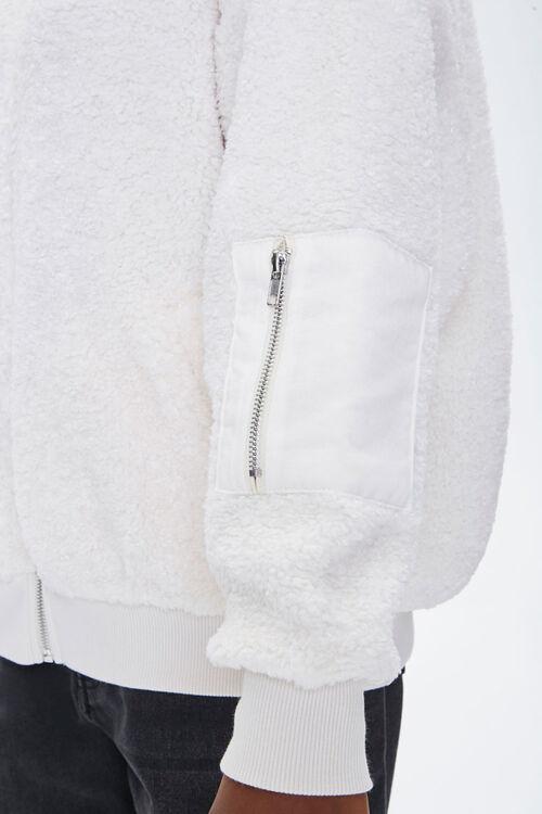 Faux Shearling Zip-Up Jacket, image 5