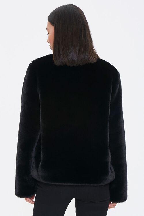 Plush Round-Neck Jacket, image 3