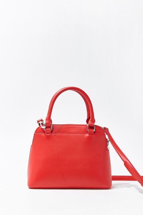 Convertible Faux Leather Satchel, image 1