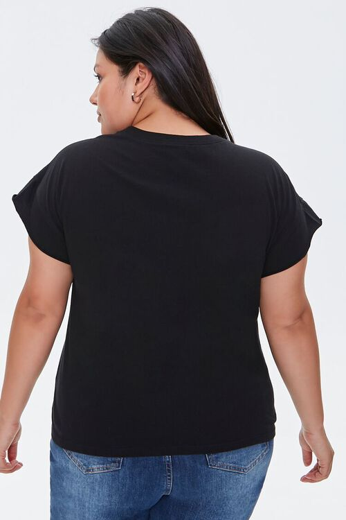 Plus Size Perfectly Imperfect Graphic Tee, image 3