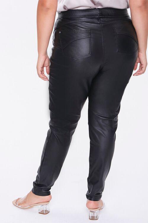 Plus Size Faux Leather Pants, image 4