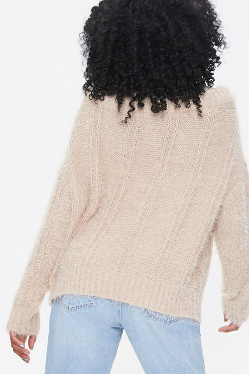 Fuzzy Boat Neck Sweater, image 3