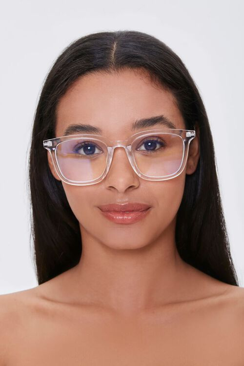 CLEAR/CLEAR Blue Light Reader Glasses, image 1