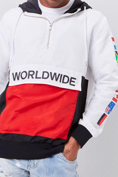 Worldwide Flag Graphic Anorak, image 5