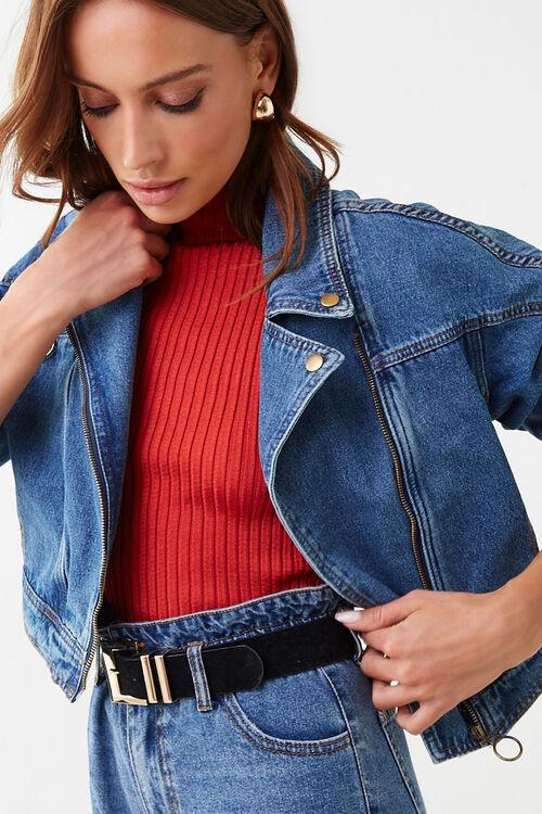 Stone Wash Denim Jacket, image 1