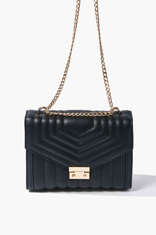 Quilted Flap-Top Crossbody Bag, image 3