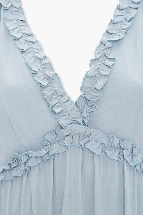 Ruffle-Trim Mini Dress, image 4