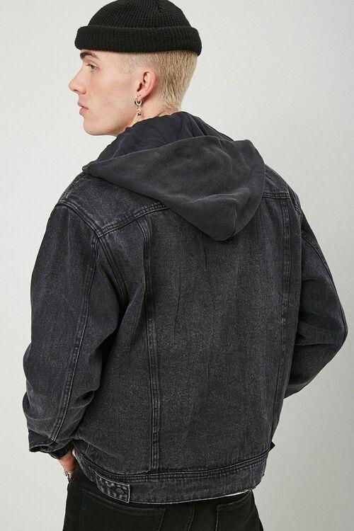 Hooded Denim Jacket, image 3