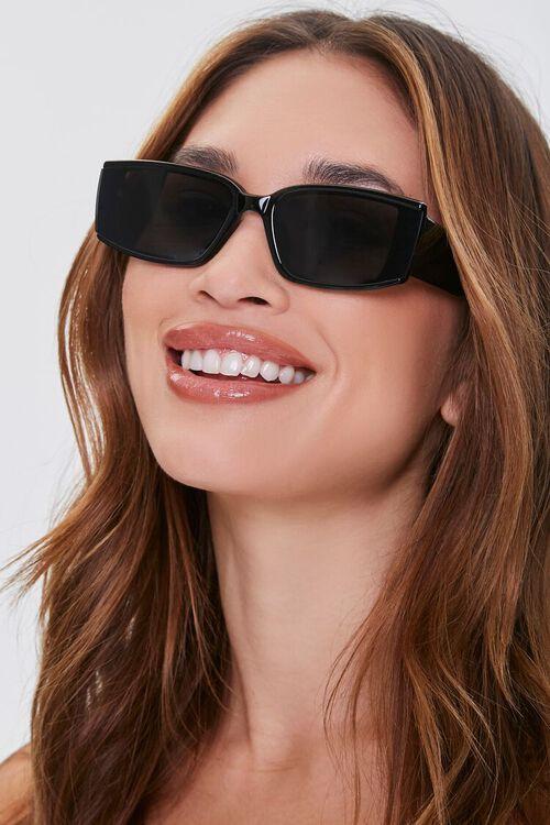 Tinted Rectangle Sunglasses, image 1