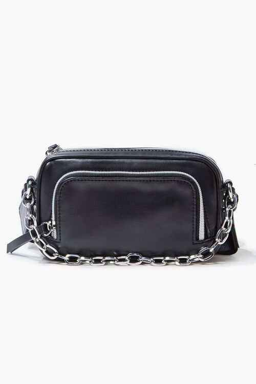 Zippered Crossbody Bag, image 1