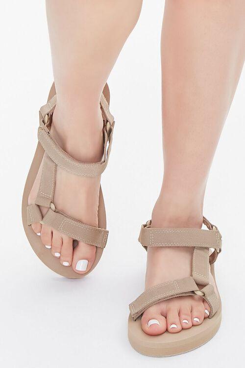 Adjustable Flatform Sandals, image 4