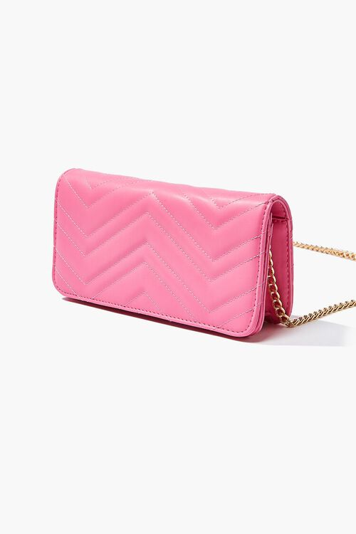 Chevron Quilted Crossbody Bag, image 2