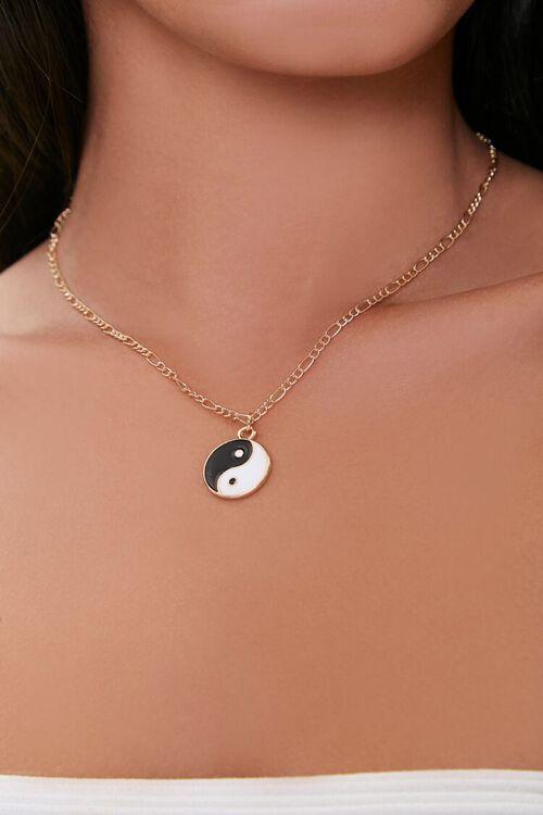 Yin Yang Pendant Necklace, image 1
