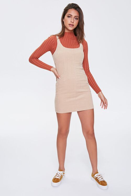 Ribbed Overall Dress, image 4