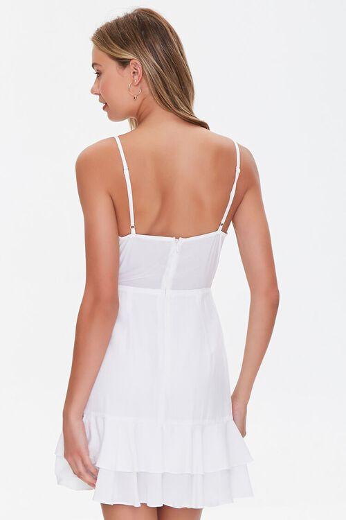 Knotted Cutout Flounce Dress, image 3