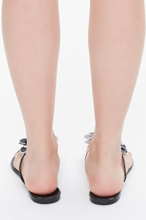 Floral Applique Thong Sandals, image 3