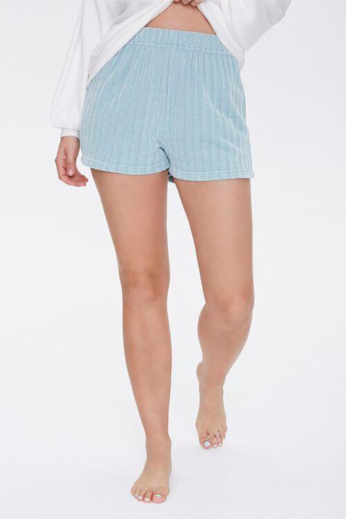 Chenille Pajama Shorts, image 2