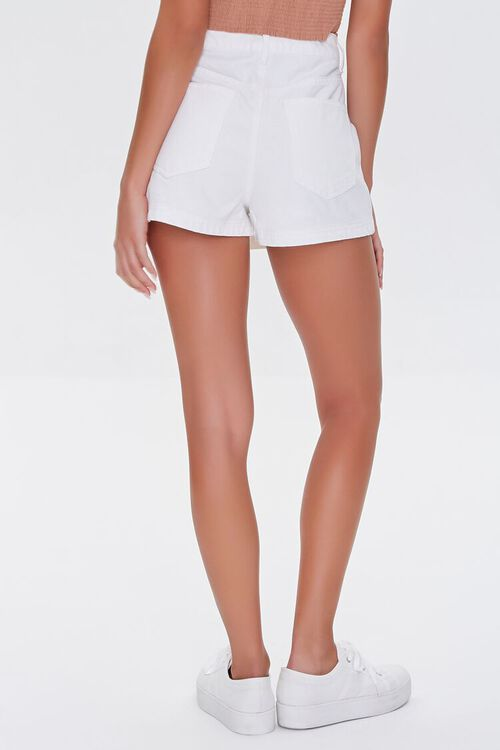 Twill Buttoned Wrap Skort, image 4