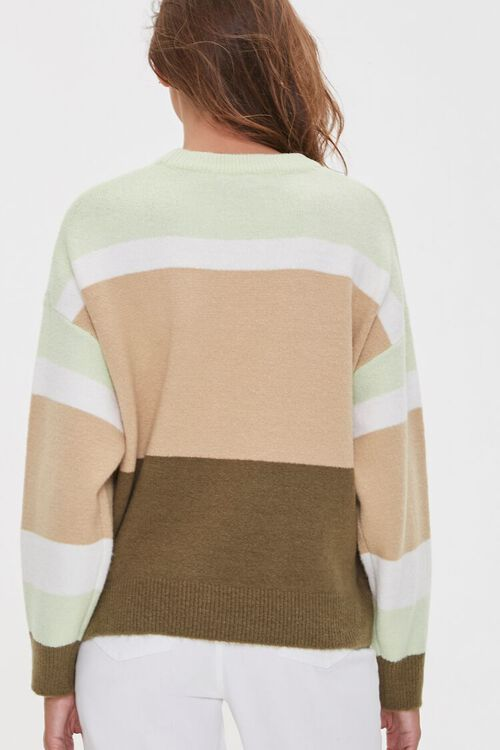 Multistriped Drop-Sleeve Sweater, image 3