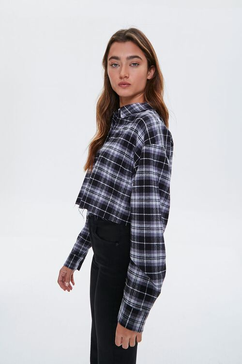Cropped Flannel Shirt, image 2