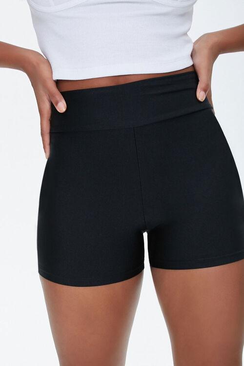 High-Rise Biker Shorts, image 1