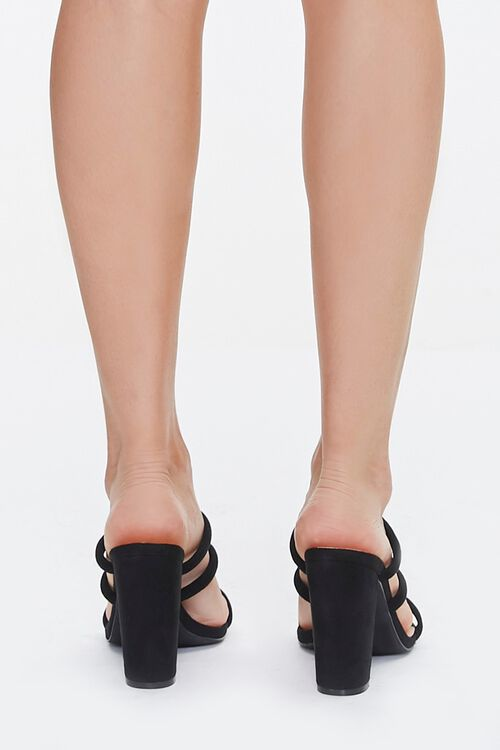Strappy Square-Toe Block Heels, image 3