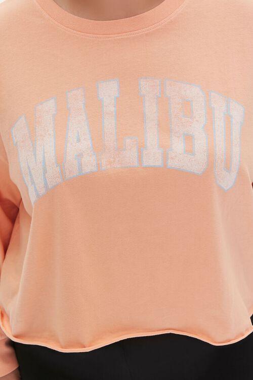 Plus Size Malibu Cropped Graphic Tee, image 5
