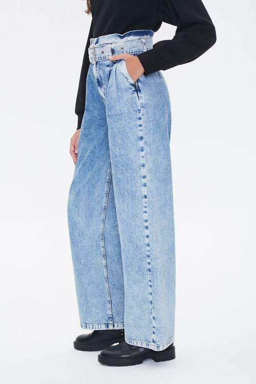 Paperbag Wide-Leg Jeans, image 2