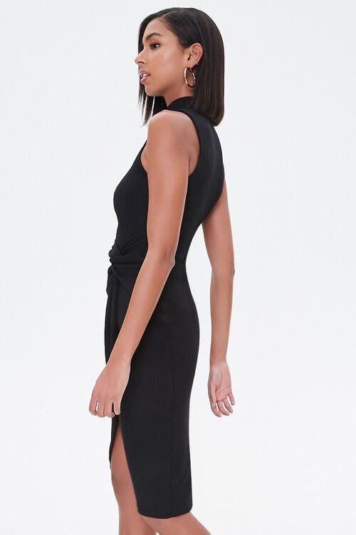 Ribbed Twisted Midi Dress, image 2