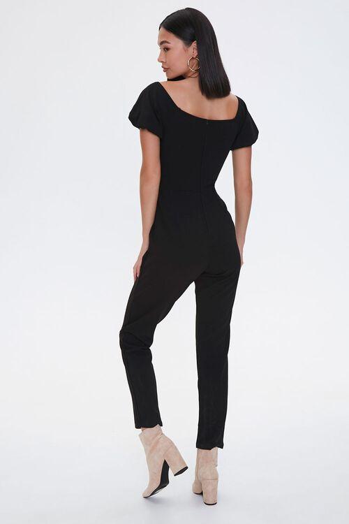 Puff-Sleeve Jumpsuit, image 4