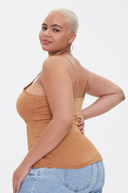Plus Size Scoop Neck Cami, image 2