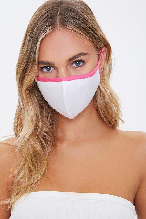 Contrast-Trim Face Mask, image 1
