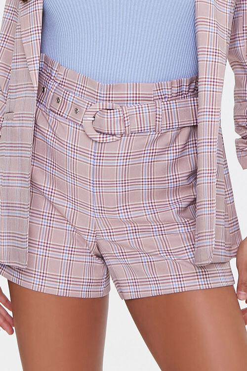 Plaid Blazer & Shorts Set, image 5