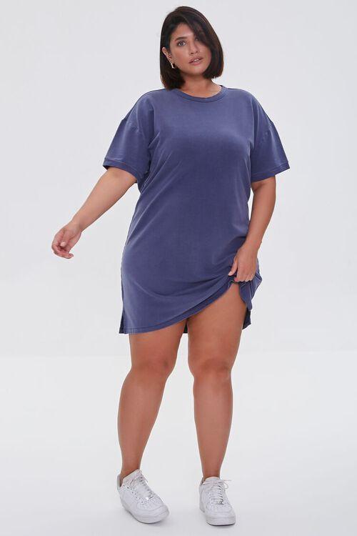 NAVY Plus Size Mini T-Shirt Dress, image 4