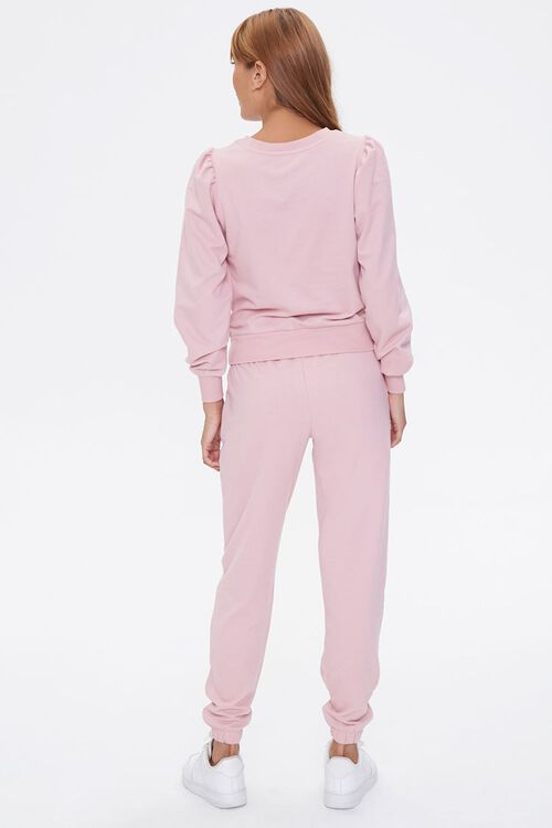 French Terry Top & Joggers Set, image 3