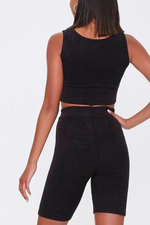 Cozy Crop Top & Biker Shorts Set, image 3