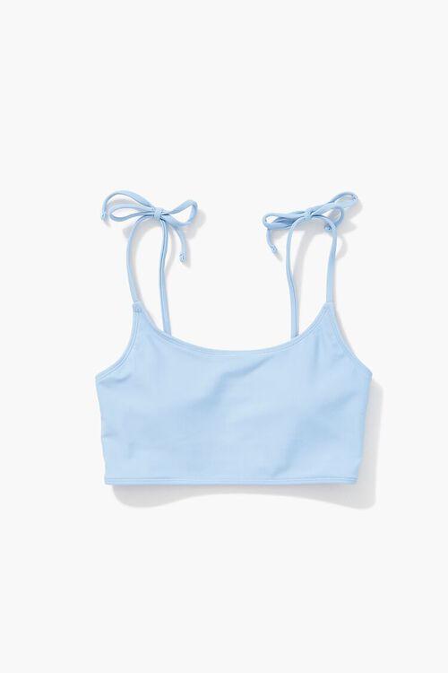 Self-Tie Bralette Bikini Top, image 1
