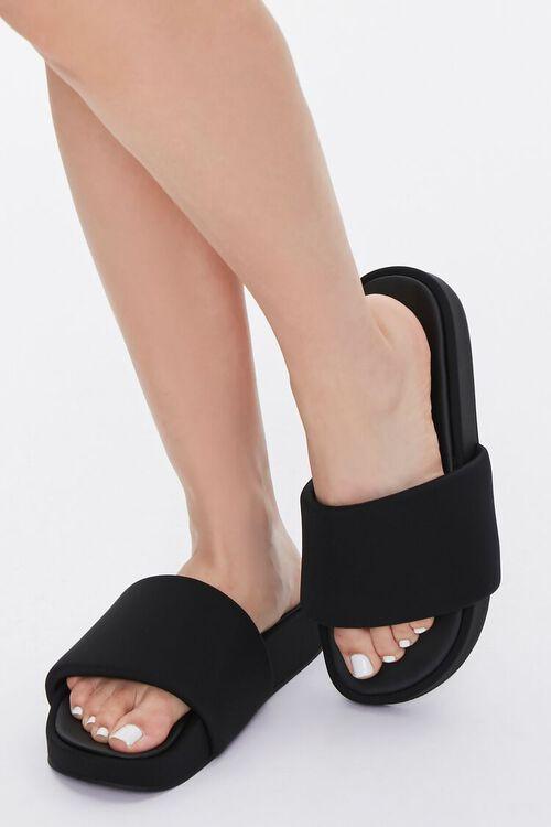 Slip-On Platform Sandals, image 1